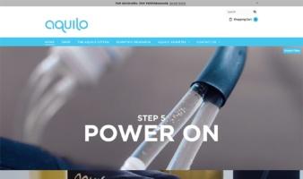 eCommerce website: Aquilo