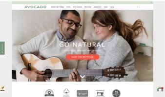 eCommerce website: Avocado