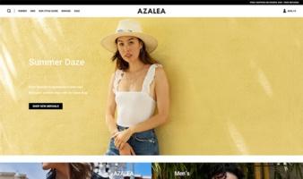 eCommerce website: Azalea Boutique