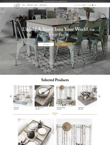 eCommerce website: Beija Flor World
