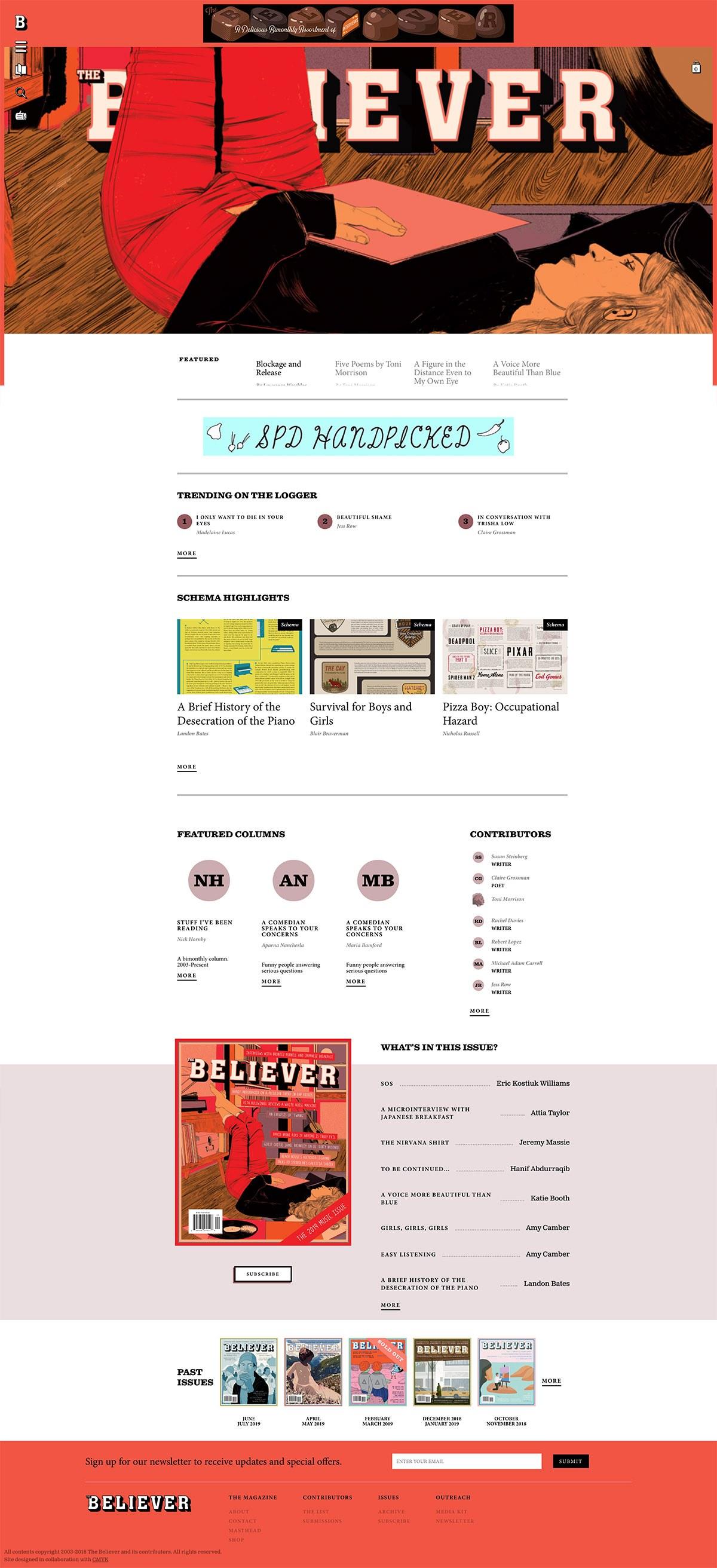eCommerce website: Believer