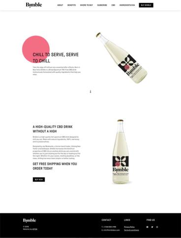 eCommerce website: Bimble