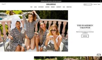 eCommerce website: GOOD AMERICAN