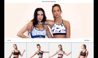 eCommerce website: Just Karma