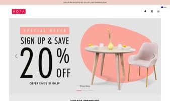 eCommerce website: KOPA Life
