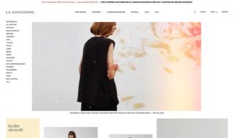 eCommerce website: La Garçonne