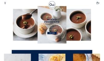 eCommerce website: Oui Paris