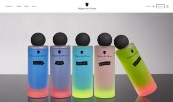 eCommerce website: Régime des Fleurs