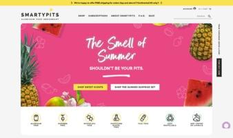 eCommerce website: SmartyPits