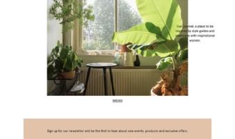 eCommerce website: Studio Cosima