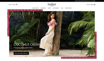 eCommerce website: Botkier