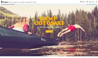 eCommerce website: Cotopaxi