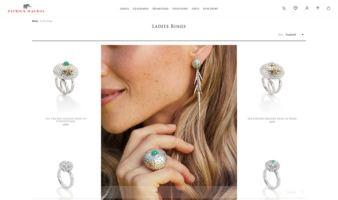 eCommerce website: Patrick Mavros