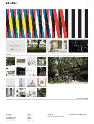 eCommerce website: tokyobike