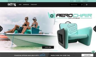 eCommerce website: BOTE