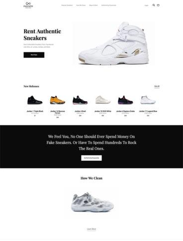 eCommerce website: Infinite Selection