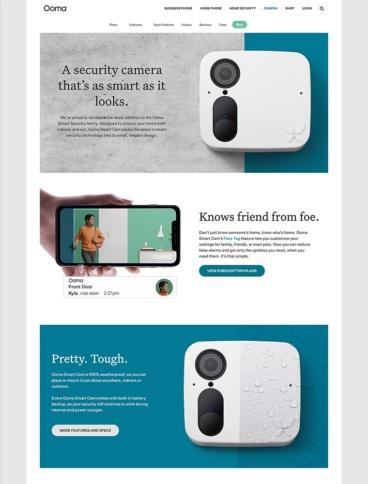 eCommerce website: Ooma, Inc.