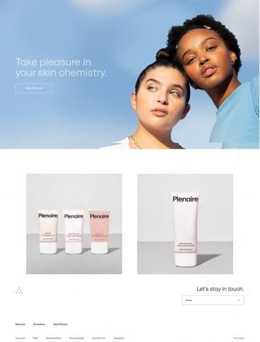 eCommerce website: Plenaire