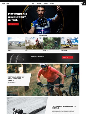 eCommerce website: Roval Components
