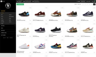 eCommerce website: Sneakerdistrict