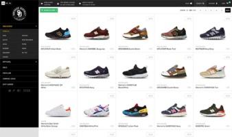 eCommerce website: Sneakerdistrict