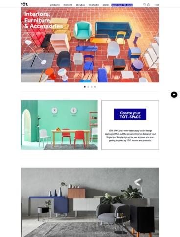 eCommerce website: TOT