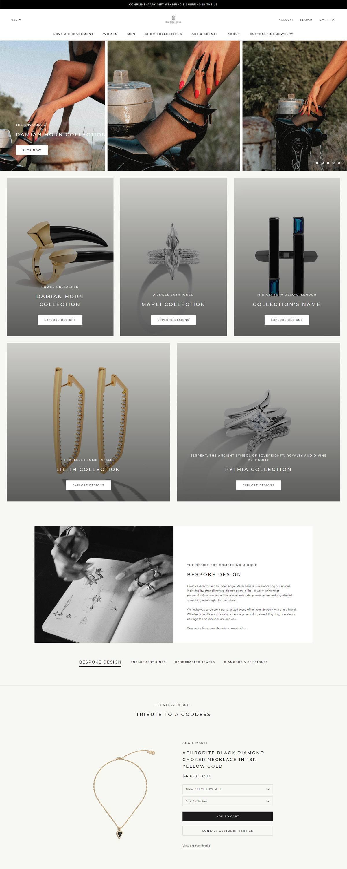 eCommerce website: Diaboli Kill