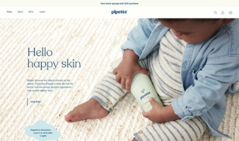 eCommerce website: Pipette