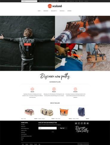 eCommerce website: Sealand Gear