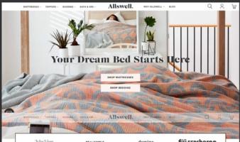 eCommerce website: Allswell