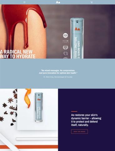 eCommerce website: Ao