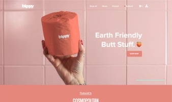 eCommerce website: Bippy