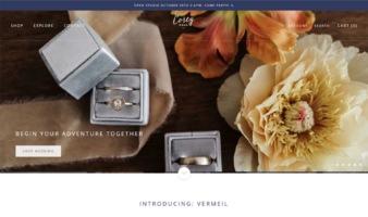 eCommerce website: Corey Egan