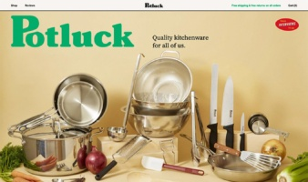 eCommerce website: Potluck