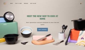 eCommerce website: Equal Parts