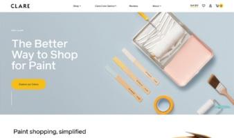 eCommerce website: Clare