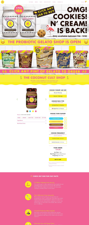 eCommerce website: Colugo