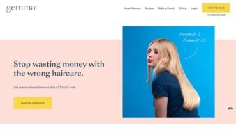 eCommerce website: Gemma