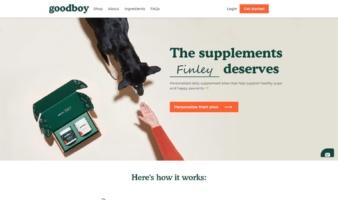 eCommerce website: Goodboy