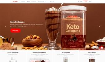 eCommerce website: HVMN