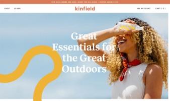 eCommerce website: Kinfield