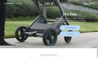 eCommerce website: Lalo