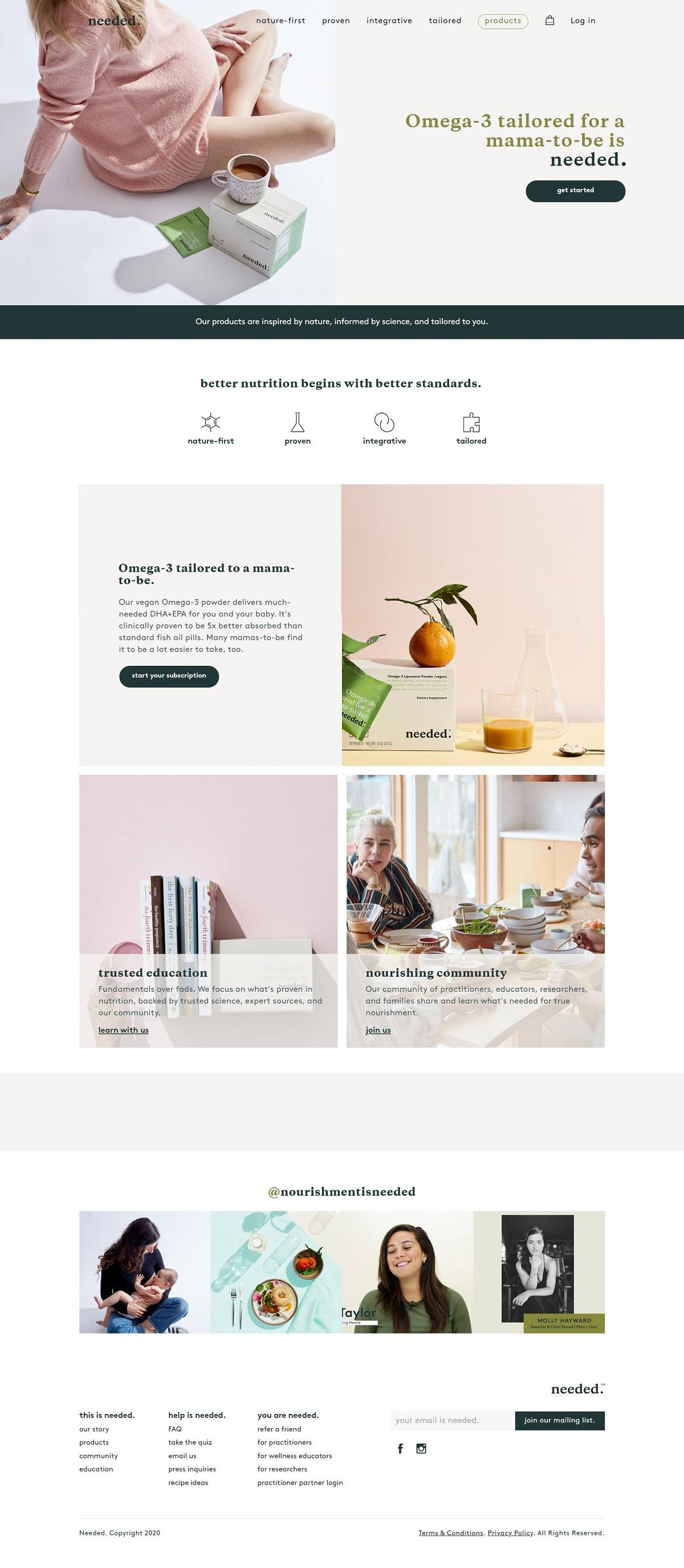 eCommerce website: Needed
