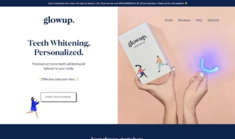 eCommerce website: glowup