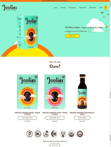 eCommerce website: Joolies