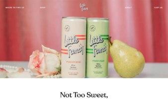 eCommerce website: Little Fancy