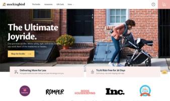 eCommerce website: Mockingbird