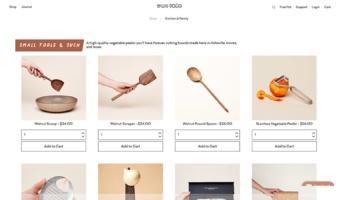 eCommerce website: East Fork