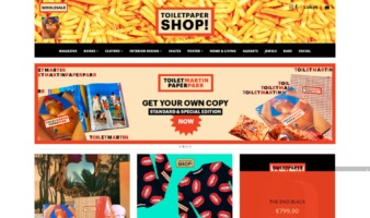 eCommerce website: Shoptoiletpaper
