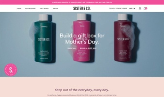 eCommerce website: Sister & Co